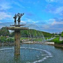 昭和記念公園噴水